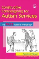 Constructive Campaigning for Autism Services