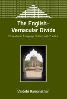 The English-vernacular Divide