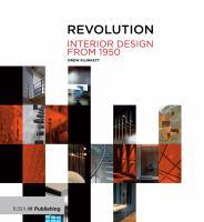 Revolution : interior design from 1950 cover