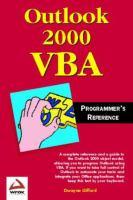 Outlook 2000 VBA Programmer's Reference
