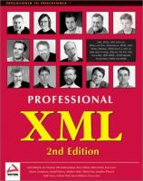 Professional XML, 2nd Edition