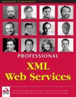 Professional XML Web Services