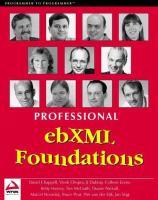 Professional EbXML Foundations
