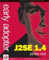 Early Adopter J2SE 1.4