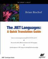 The .NET Languages