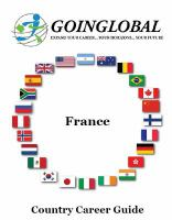 Career Information and Resources for France