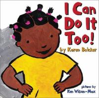 Cover of I Can Do It Too!
