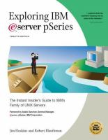 Exploring IBM EServer PSeries