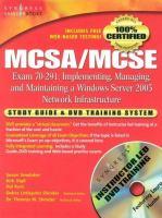 MCSA/MCSE, Exam 70-291