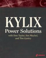 Kylix Power Solutions With Don Taylor, Jim Mischel and Tim Gentry