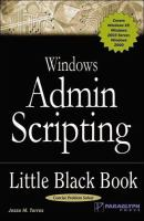 Windows Admin Scripting Little Black Book, Second Edition
