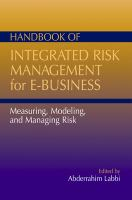 Handbook of Integrated Risk Management for E-business