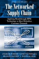 The Networked Supply Chain
