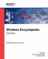 Wireless Encyclopedia, First Edition