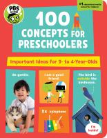 Preschool 100: Important Early Concepts for 3-5 Year-Olds