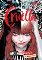 Disney, Cruella: black, white, and red GN