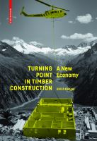 Turning point in timber construction : a new economy cover