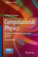 Computational physics : simulation of classical and quantum systems cover