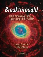 Breakthrough! : 100 astronomical images that changed the world cover