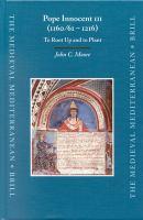 Pope Innocent III (1160/61-1216)