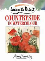 Learn To Paint Countryside In Watercolour