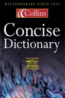Collins Concise Dictionary