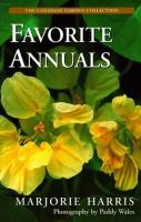 Marjorie Harris Favorite Annuals
