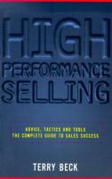 High-performance Selling