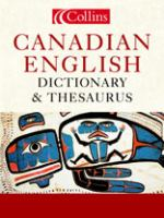 Collins Canadian English Dictionary & Thesaurus