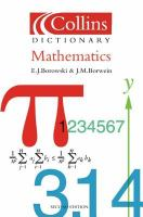 Collins Dictionary Mathematics