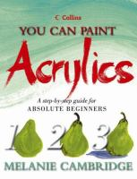 You Can Paint Acrylics