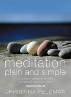 Meditation Plain and Simple