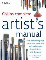 Collins Complete Artist's Manual