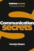 Communication Secrets