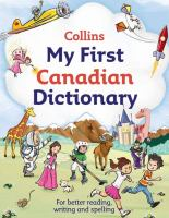 My First Canadian Dictionary