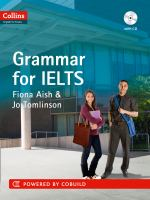 Grammar for IELTS [includes Audio CD]