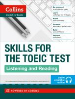 Skills for the TOEIC Test