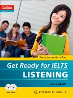 Get Ready for IELTS Listening [includes Audio CD]