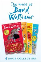 David Walliams 4 Book Collection