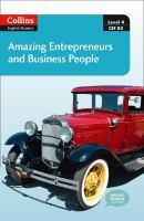 Amazing Entrepreneurs and Business People