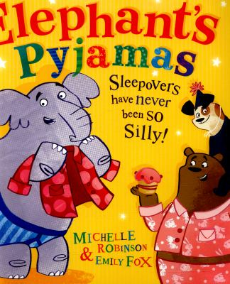 "Book Cover - Elephant's pyjamas "" title=""View this item in the library catalogue"