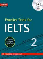 Practice Tests for IELTS 2 [includes MP3 CD]