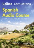 Spanish audio course