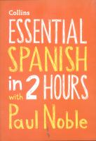 Essential Spanish in 2 Hours
