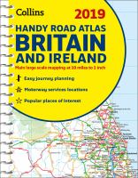 Collins 2019 Handy Road Atlas Britain and Ireland