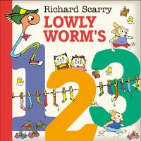 Richard Scarry Lowly Worm's 123