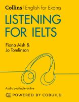 Cover of Listening for IELTS