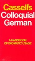Cassell's Colloquial German