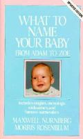 What To Name Your Baby