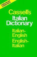 Cassell's Italian Dictionary